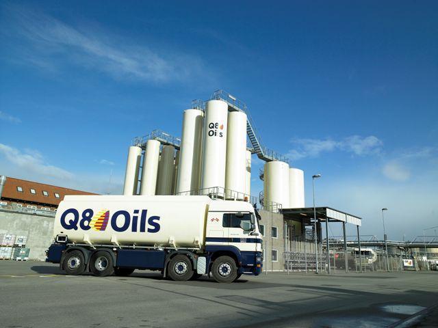 Q8 Oils Blending Truck