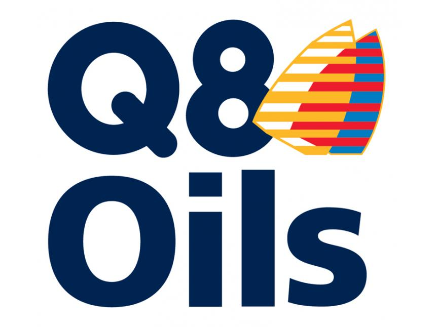 Q8 Oils Logo White Background