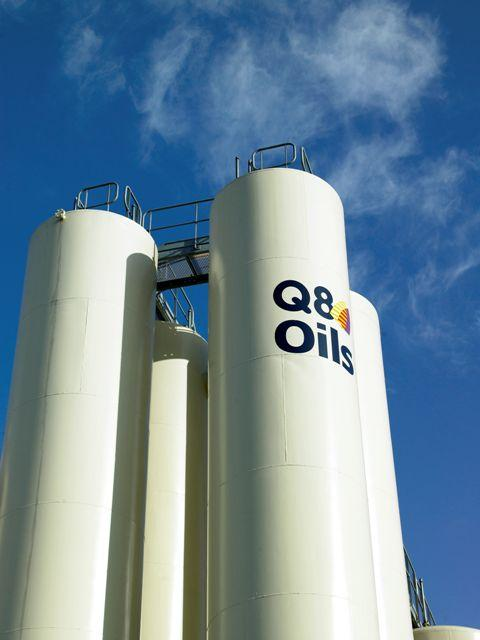 Q8 Oils Blending Plant Antwerp